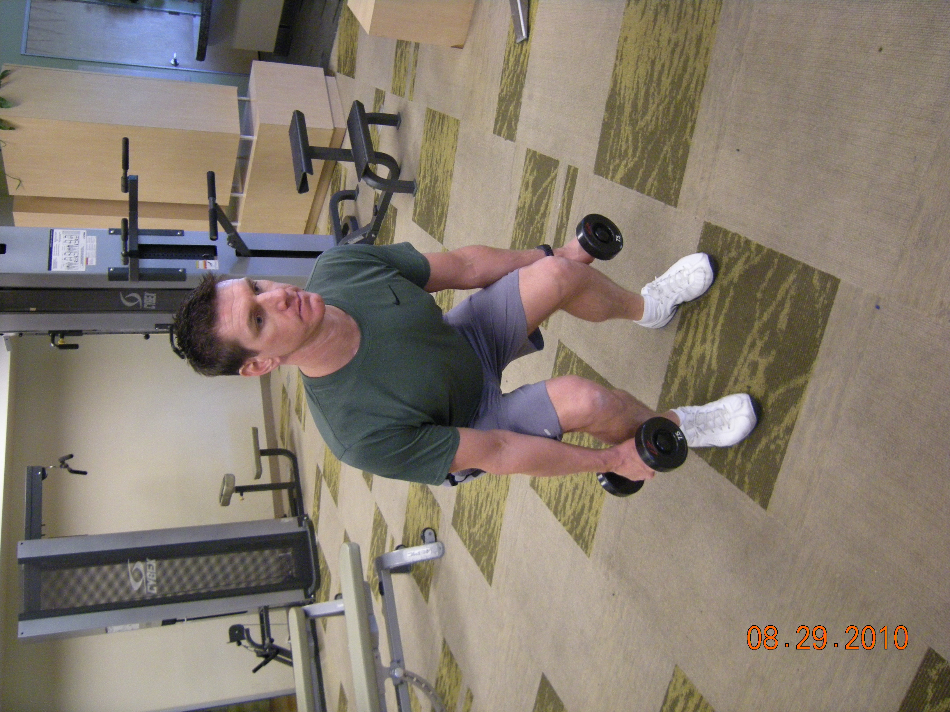Squat - Bicep Curl - Overhead Press   Fitness Know How